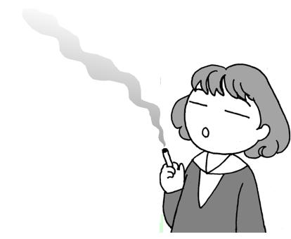 女性とタバコの害<村口きよ女性...